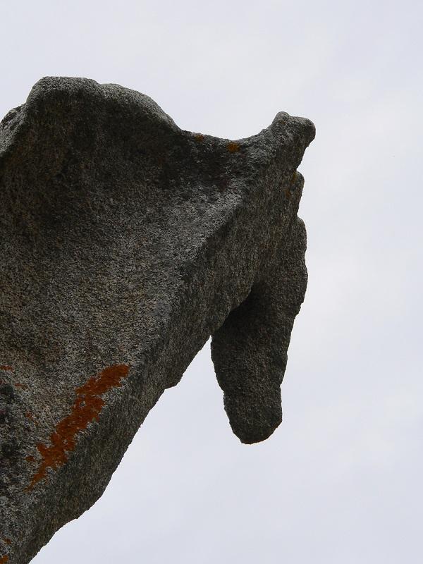 Mégalithe imposant
