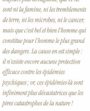 Covid = Epidémie psychique !
